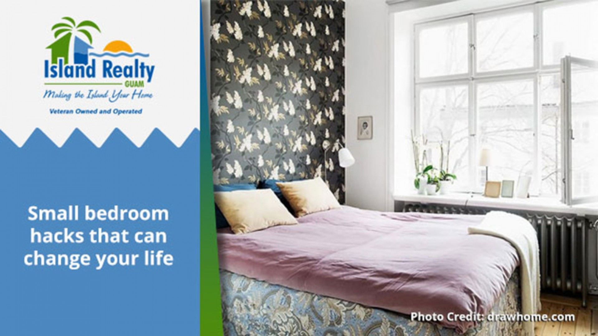 Small bedroom hacks that can change your life | Guam Real ...